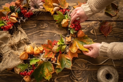 Wednesday 8th September 6:30pm Autumn Wreath